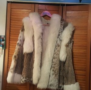 Jackets & Blazers - Lynx Fur Coat